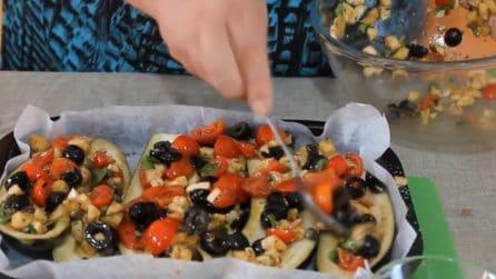 Barchette di melanzane: un'idea gustosa e sfiziosa
