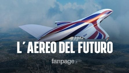Da Londra a Sydney in 4 ore con l'aereo del futuro