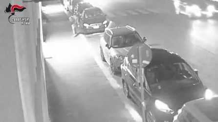 Tredici colpi in un mese: ecco come agiva la banda dei furti su auto