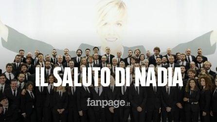 """Nadia Toffa, l'ultimo saluto a """"Le Iene"""" con 100 colleghi in studio: """"L'importante è come vivi"""""""
