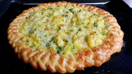 Crostata di patate: una bellissima preparazione dal sapore unico