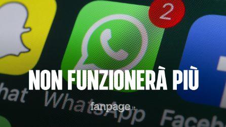 Nel 2020 WhatsApp non funzionerà più su questi smartphone