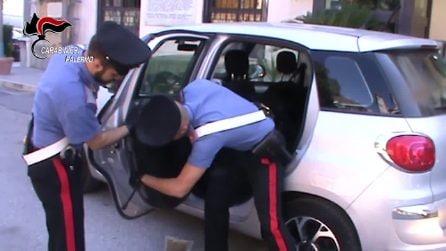 Un quintale di droga nelle portiere dell'auto, carabinieri arrestano quattro persone a Palermo