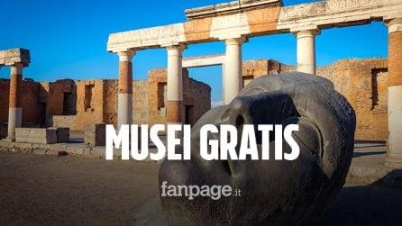 Domeniche gratis nei musei: dal 6 ottobre torna l'appuntamento gratuito con la cultura