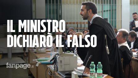"""Processo Cucchi bis, il pm contro Alfano: """"L'ex ministro dichiarò il falso: fatto gravissimo"""""""
