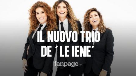 """Trio femminile a conduzione de """"Le Iene"""": al timone Nina Palmieri, Roberta Rei e Veronica Ruggeri"""