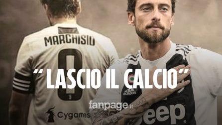 """Claudio Marchisio annuncia l'addio al calcio: """"Se non puoi dare il massimo, meglio lasciare"""""""