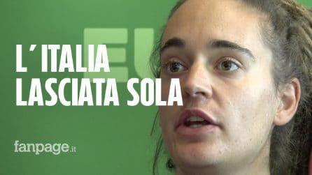 """Migranti, Carola Rackete: """"Italia lasciata sola, ora serve impegno di tutta l'Europa"""""""