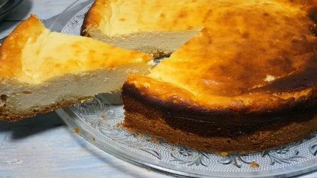 Cheesecake con base soffice: un dessert super cremoso che amerete