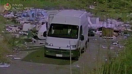 Via Tiburtina: scoperta discarica abusiva e filiera smaltimento illegale di rifiuti