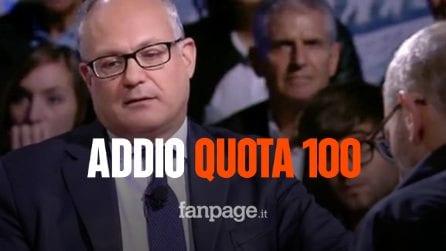 """Quota 100, niente rinnovo per l'anticipo pensionistico, Gualtieri: """"È controproducente"""""""
