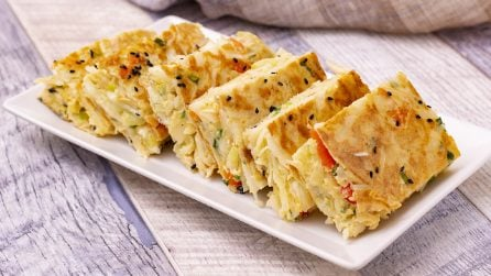 Cabbage omelette: too delicious not to try this recipe!