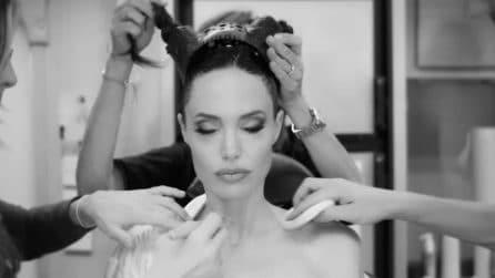 """La trasformazione di Angelina Jolie in """"Maleficent - Signora del male"""""""
