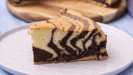 Zebra ogura cake: all you need are a few and simple ingredients!