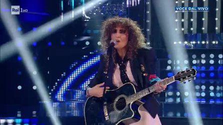 Tale e Quale show quarta puntata: Sara Facciolini canta Dedicato di Loredana Bertè