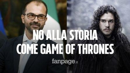 """Fioramonti: """"No alla storia insegnata come Game of Thrones. Maturità 2020? Non cambierà"""""""