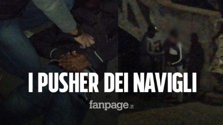 Spaccio sui Navigli, arrestati i 'pusher del ponte': le immagini esclusive del blitz