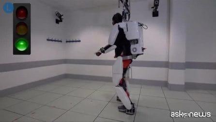 Tetraplegico torna a camminare grazie a un esoscheletro