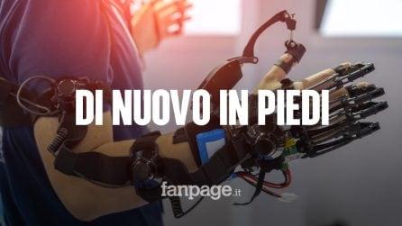 Questo esoscheletro legge la mente: può far camminare i pazienti paralizzati