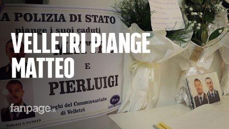 Poliziotti uccisi a Trieste, la città di Velletri piange Matteo Demenego