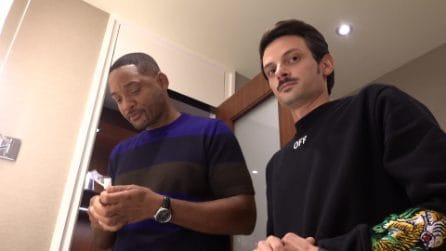Fabio Rovazzi e Will Smith nella stessa stanza d'albergo