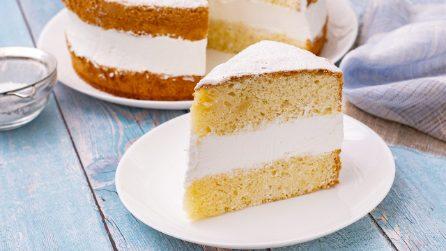 Torta paradiso: la ricetta morbidissima, alta e farcita
