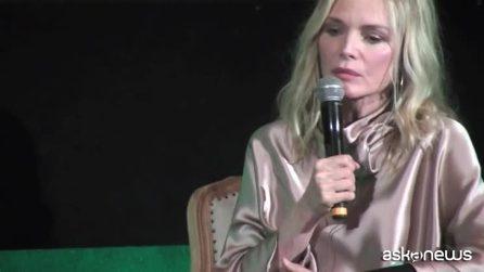 Angelina Jolie a Roma con Michelle Pfeiffer per l'anteprima di Maleficent