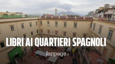 """""""Ricomincio dai Libri"""", scrittori e lettori ai Quartieri Spagnoli di Napoli: """"La cultura è di tutti"""""""