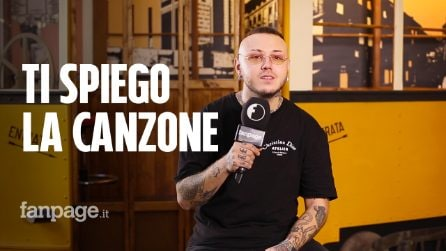 """Lazza spiega Gigolò, la canzone con Sfera Ebbasta e Capo Plaza: """"Orecchiabile e un po' tamarro"""""""