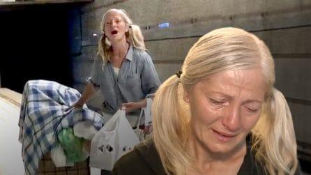 Chi è Emily Zamourka, la senzatetto che ha incantato il mondo cantando Puccini in metro