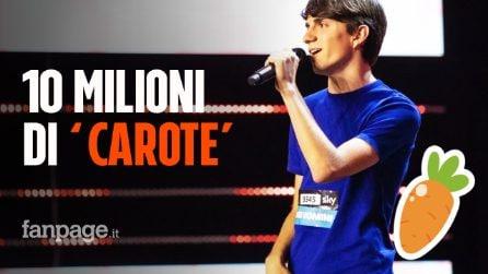 Carote, 10 milioni di visualizzazioni per Nuela: dopo X Factor invade Youtube Spotify e TikTok