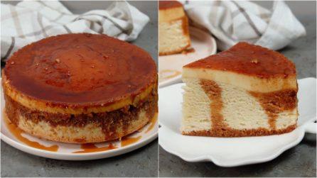 Torta flan al caramello: se hai voglia di dolce questa ricetta fa al caso tuo!