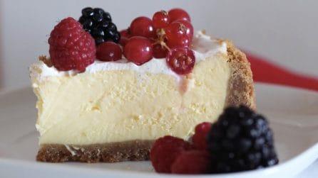 New York cheesecake: il dessert americano che piace a tutti