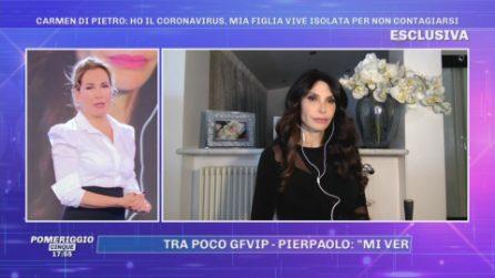 Carmen Di Pietro: ''Ho il Coronavirus, mia figlia vive isolata per non contagiarsi''