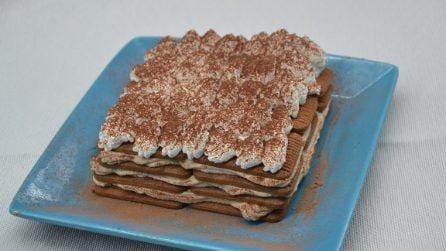 Torta mattonella con mascarpone: il dessert senza cottura che amerete