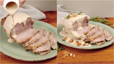 Walnut pork roast: an amazing meal for surprise you guests!