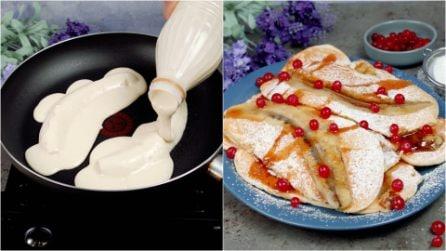 Banana pancake: the easy recipe for an original breakfast!