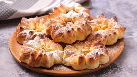 Fiorellini brioche dolci: buoni e divertenti da preparare!