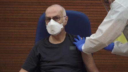 Gianni Rezza si è vaccinato contro il coronavirus