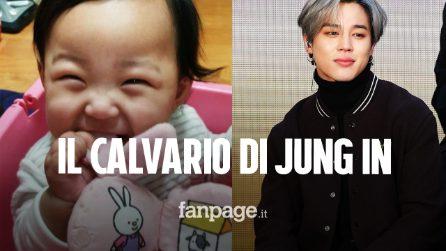 Jung In, uccisa di botte a 16 mesi dai genitori adottivi: il sostegno di Jimin dei BTS in un post