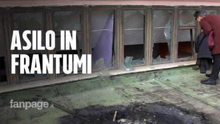 """Botti di Capodanno distruggono un asilo: """"Molti danni, hanno tolto la scuola ai bambini"""""""