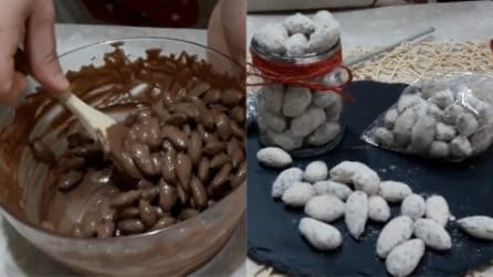 Mandorle tostate al cioccolato: lo snack goloso che si prepara in pochi minuti