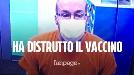 """Farmacista ha distrutto 500 dosi di vaccino Moderna: """"Mutano il DNA umano"""""""