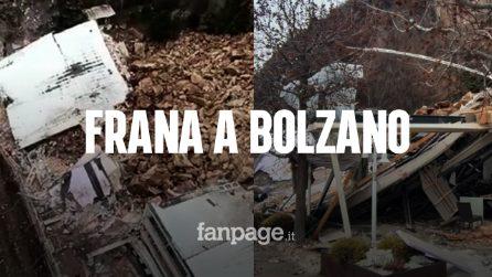 """Paura a Bolzano, frana distrugge un albergo: """"Si temono persone coinvolte"""""""