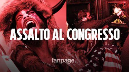 Usa, sostenitori di Trump assaltano il Congresso: scontri, armi e ordigni esplosivi a Capitol Hill