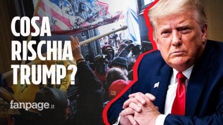 Assalto al Congresso Usa, cosa rischia Trump: dall'impeachment al 25esimo emendamento