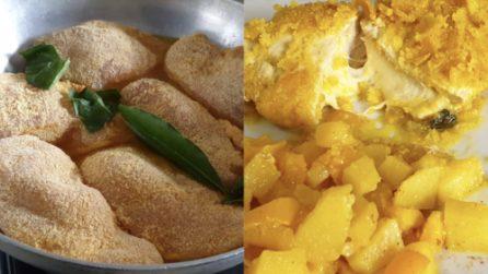 Petto di pollo ripieno in padella: la ricetta del secondo piatto ricco e gustoso