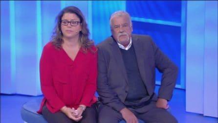 C'è Posta per te, Maria Lucia chiede ai figli che non le parlano di accettare suo marito Piero