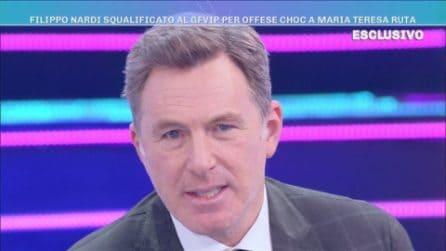 Domenica Live - Le scuse Filippo Nardi dopo la squalifica dal GF Vip