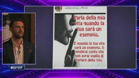 GF Vip - Andrea Zenga scopre cosa ha detto il padre